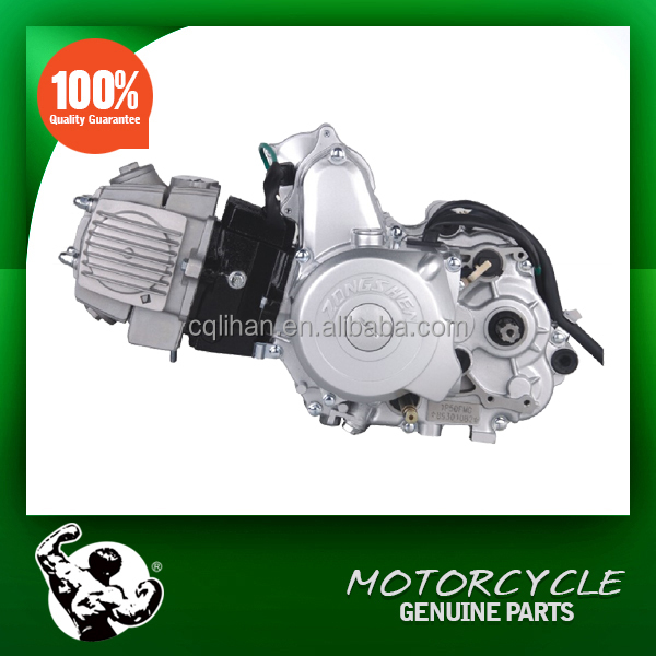 Motorcycle Horizontal 125cc Engine Automatic with Reverse