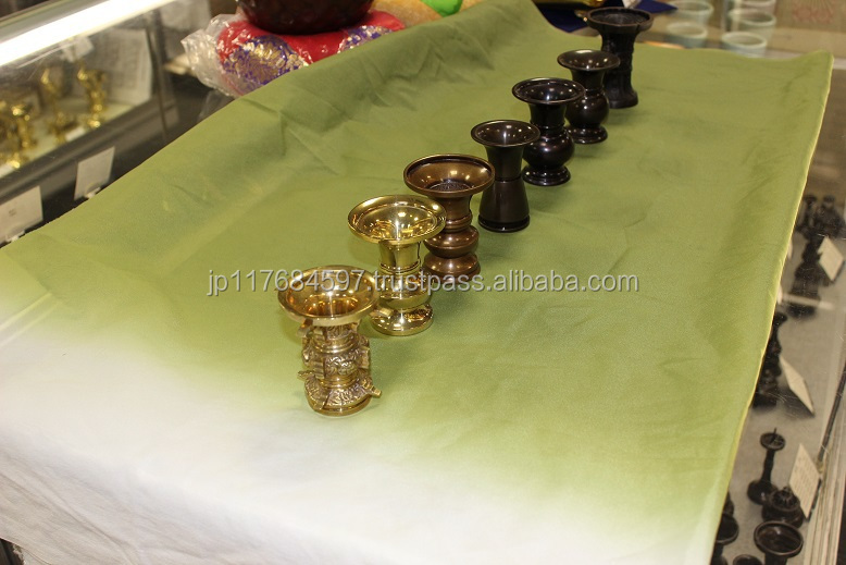 flower brass vases with brass made in Japan interior handicraft table ware