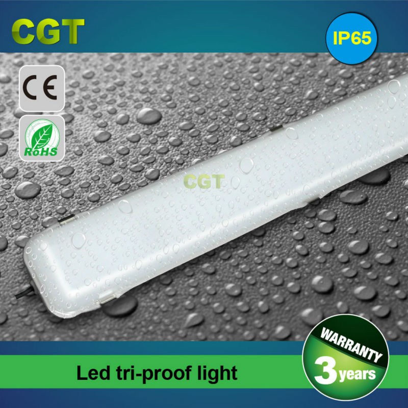 IP65 LED residential lamp waterproof light tri-proof luminaires 2FT 3FT 4FT 5FT CE Rohs
