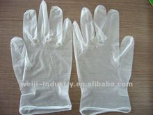 Disposable plastic cooking surgical examination gloves