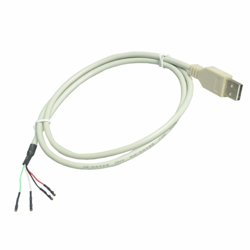 Linsone custom USB 4 core 24 28AWG power cable cords