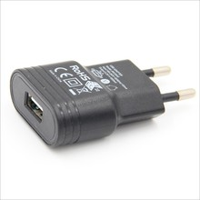 5v 1a usb power adapter / single usb wall charger / usb travel charger for smartphone