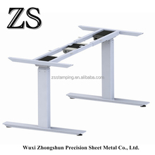 2 Legs Cheap Single Motor Height Adjustable Office Desk