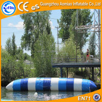 Multi-color inflatable jump air bag for skiing, professional heat sealing water pillow/water blob prices