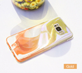 Aurora Gradient PC Mirror Cell Phone Case For S8/S8+
