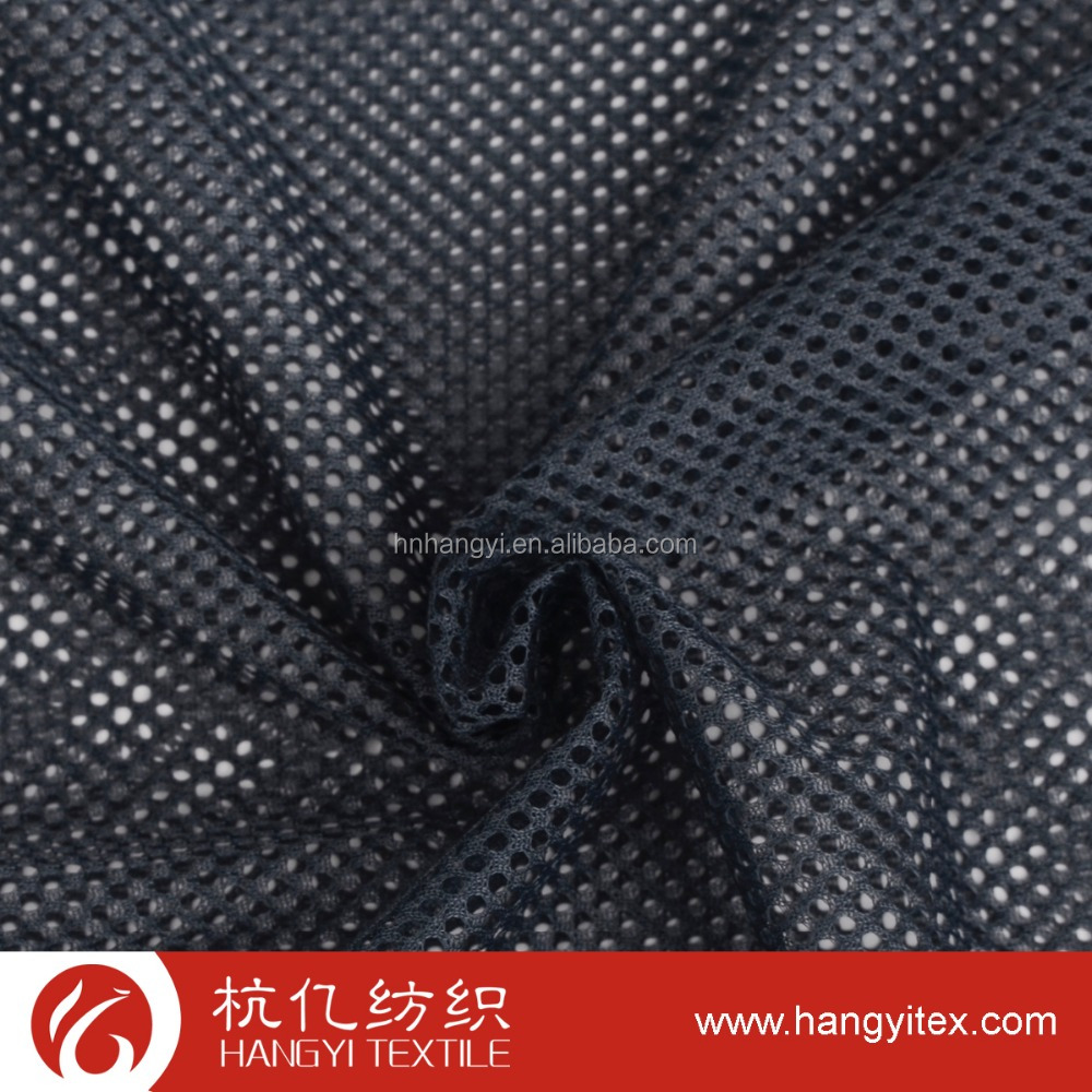 Hot selling 100% polyester knitted mesh fabric for lining