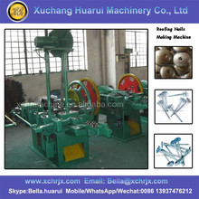 Automatic Roofing Nail Making Machine / Umbrella hat nail machine