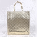 Custom printed wholesale shopping tote bag/non woven bag