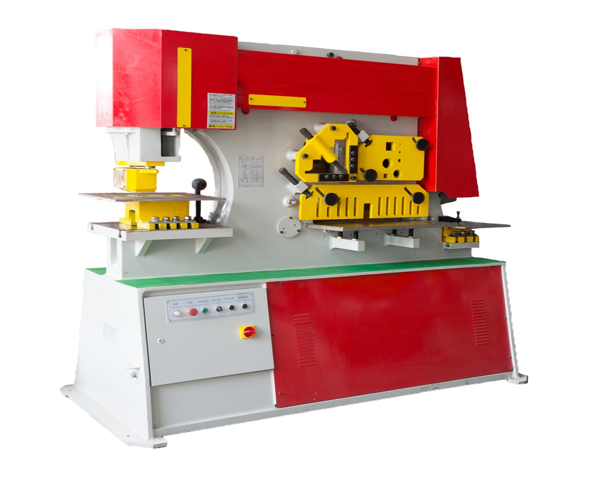 multi functional iron worker stamping and drawing machine