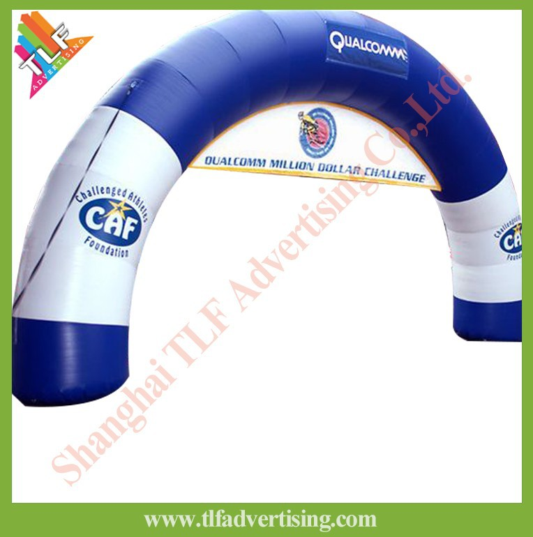 Outdoor Giant promotional Inflatable display arch inflatable archway
