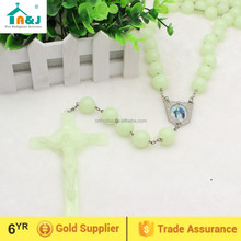 Big Plastic bead Luminous Wall Rosary