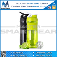 Wholesale Colorful Plastic Joyshaker Blender Protein Bottle