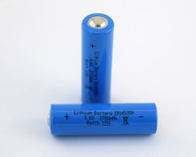 3.6v Li/SOCl2 lithium battery AA size ER14505H 2700mah cylindrical type lithium/thionyl chloride battery with high capacity