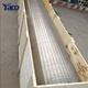 stainless steel continuous slot wire wrapped wedge wire screen for drilling equipment