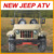 2016 New Version Jeep Willy ATV,125cc-200cc