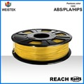 Weistek high quality 3d filament PLA and ABS