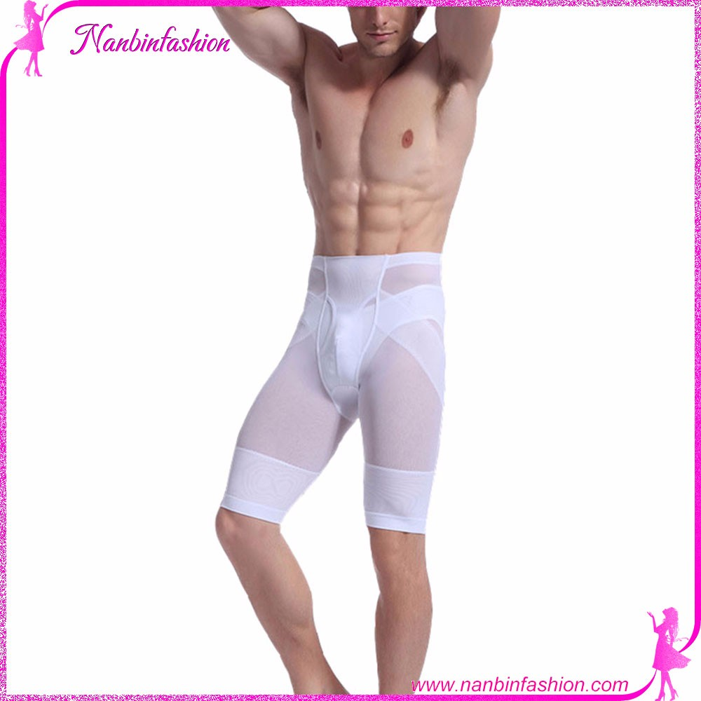 Wholesale hot selling cheap male slimming pants thigh corset