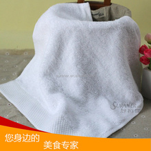 5 star hotel high quality wholesale white 100% cotton tea towel