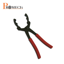 Professional Vehicle Swivel Jaws Oil Filter Wrench Pliers / Automobile Body Repair Tools