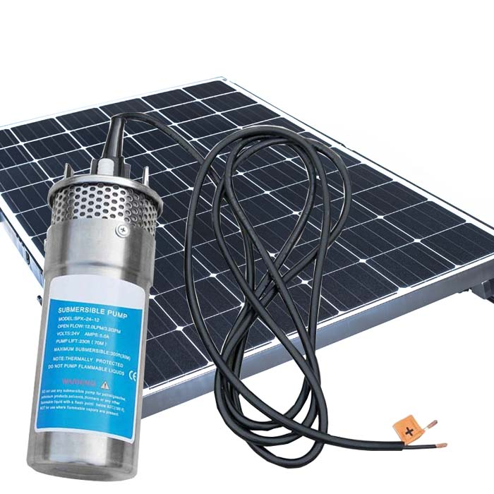 YM1260-30 Solar Water Swimming Pool Pump System With Stainless Steel Fasteners