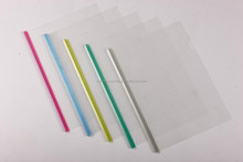 Alibaba china wholesale custom colorful A4 size clear document folder pvc slide bar plastic file binders
