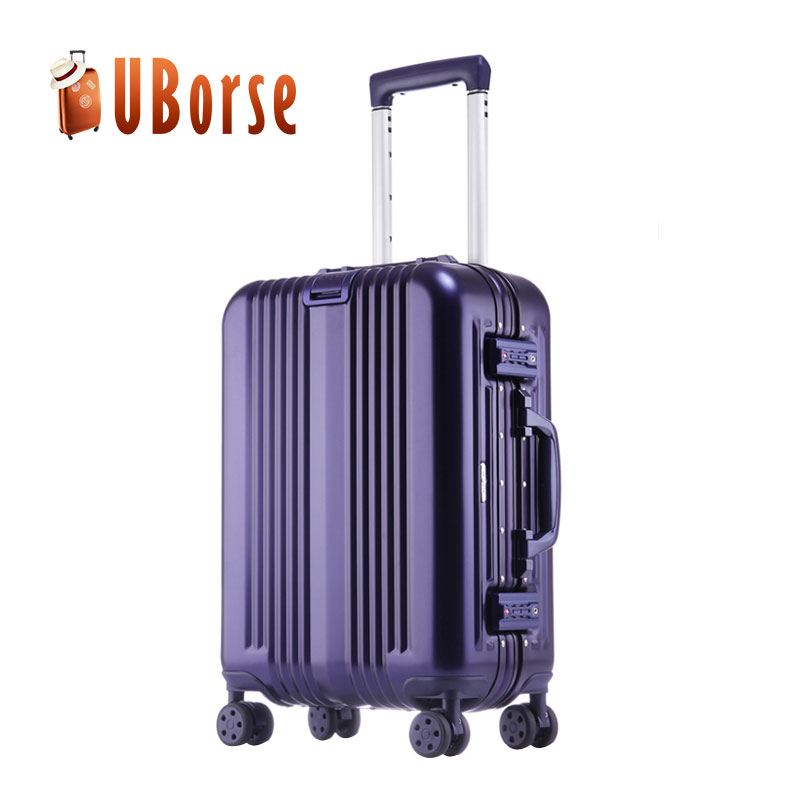 wholesale luggage suitcase aluminum case luggage