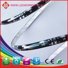 silicon cover waterproof flexible led strip light DC12V Ip65 SMD 335 bicycle led strip light