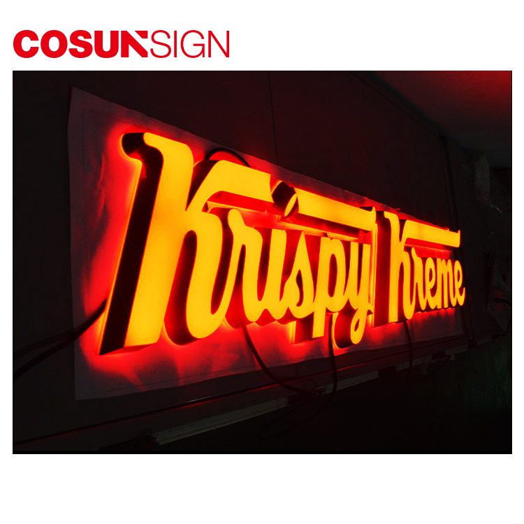 Cosun Programmable Led Sign Board, Custom Logo Design Service, Led Signage Letters