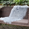 CX-D-24H cheap wholesale wool lamb fur fabric sherpa throw blanket