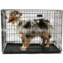 pvc coated folding dog cage