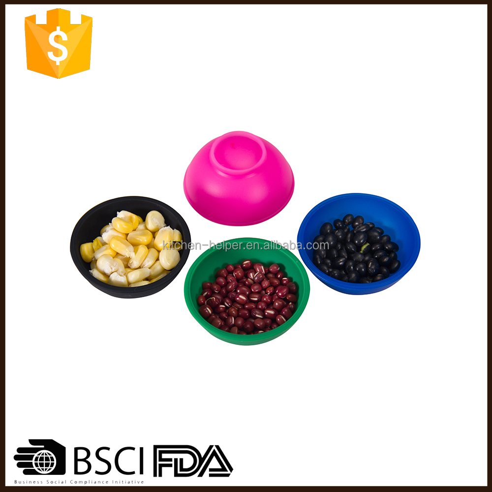 Amazon Hot Selling Multi-function FDA Passed Oven Safe Silicone Bowls