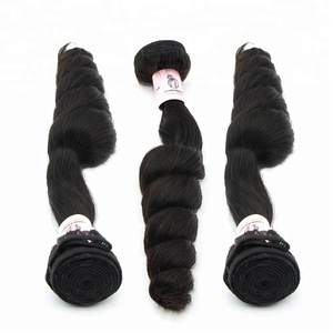 Factory direct supply cheap brazilian loose wave peruvian hair