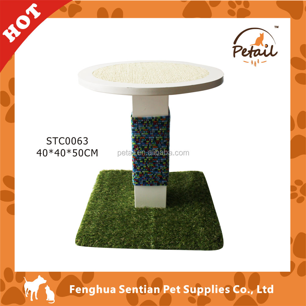 New Material Faux grass outdoor cat tree Outdoor Cat Furniture