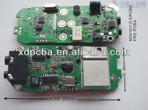 interphone pcb a & pcb board manufacturing