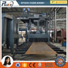 Steel Plate Grit Blasting Machine