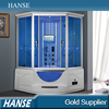 HS-SR033 corner 150x150cm double seat steam massage shower cabin