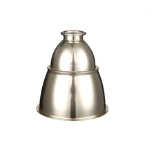 Metal spinning drum aluminium lamp shade