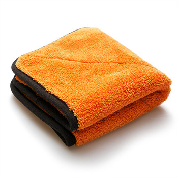 Double thickness microfiber towel for car cleaning MS-PT4040-E