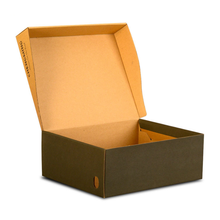 Wholesale Custom Corrugated Paper Drop Front Shoe Box