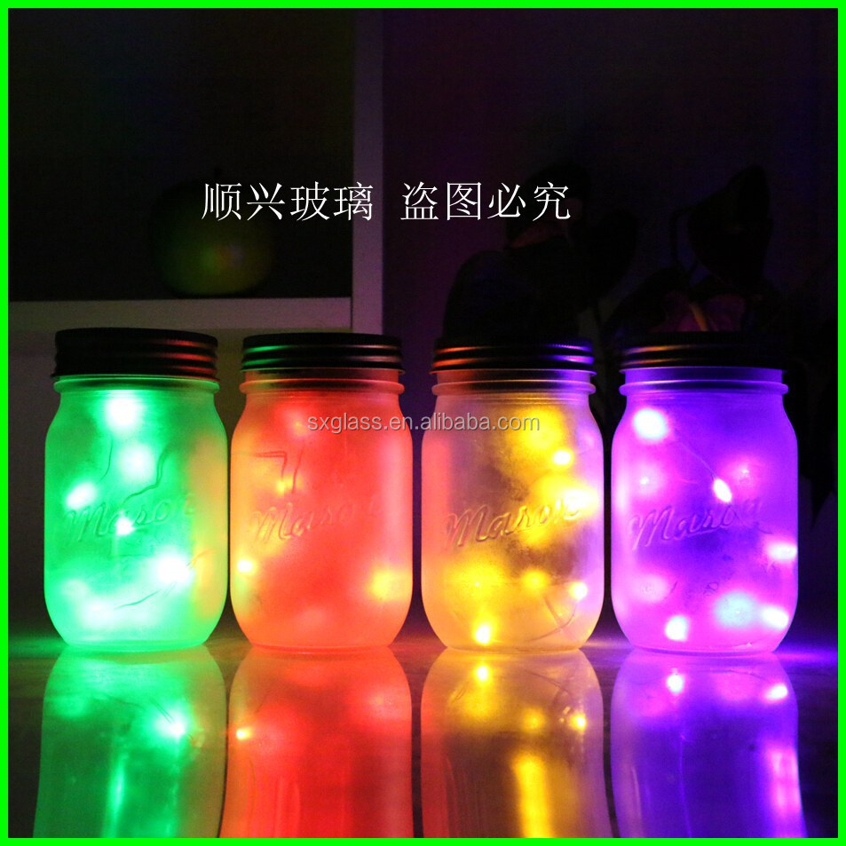 Solar Lid Light Wholesale Part - 40: New Design Wholesale Mason Jar Light With Solar Mason Jar Lids