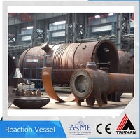 Large Production Capacity, Galvanized Reactor Water Pressure Tank