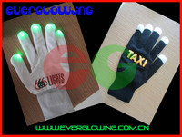 Hot Factory Chrismas led flashing light glove