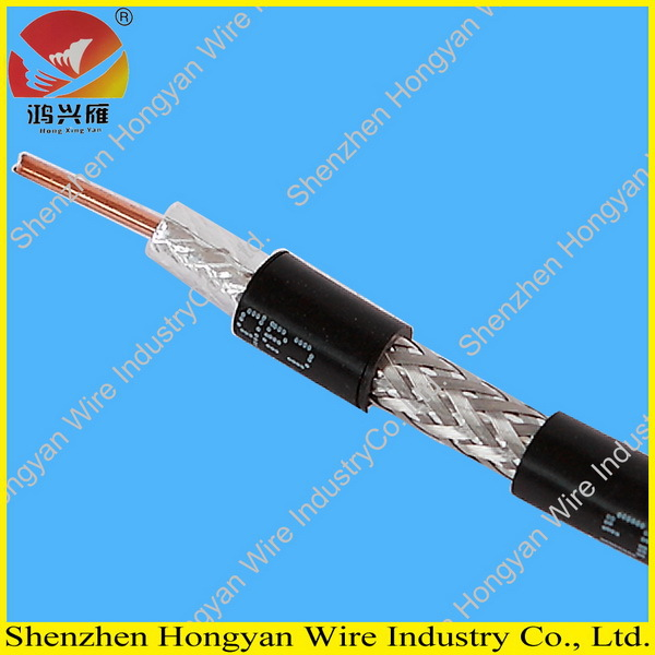 75 ohm colored cable rg6 for CCTV and CATV