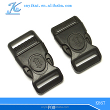 bag insert buckle backpack strap buckle Plastic key lock buckles