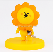 custom made plastic vinyl figures/customized PVC sun flower vinyl figure toys/made cartoon vinyl action figure manufacturer