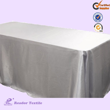 square satin table cloth fabric