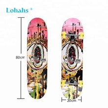 Custom High Quality Double Seesaw Skateboard
