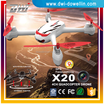DWI Dowellin X20 Drone GPS 6 Axis drone with hd camera