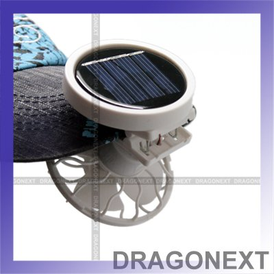 Good Quality Portable Mini Power Energy Panel Clip On Fan For Hat & Car Solar Cooling Fan