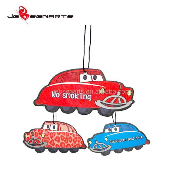 Factory Price Paper Hanging Fragrance Car Perfume Card Custom Car Air Freshener